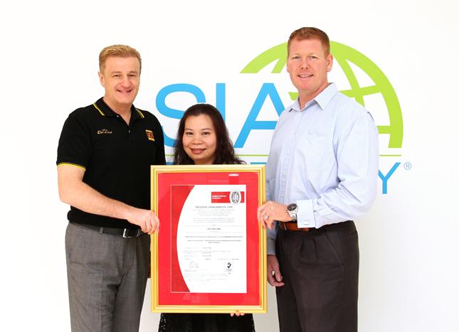 ทรีด้อมได้รับการรับรอง ISO 9001:2008 ในด้านการจัดการแปลงปลูก