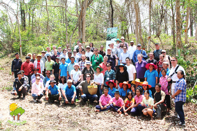 เดลาคอน ร่วมกับ มูลนิธิปลูกต้นไม้วันนี้ ปลูกป่า 500 ต้น