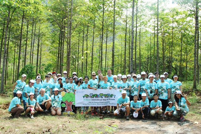 FAO ร่วมกับ PATT Foundation ชวนเยาวชนปลูกป่า ฉลองวันป่าไม้สากล