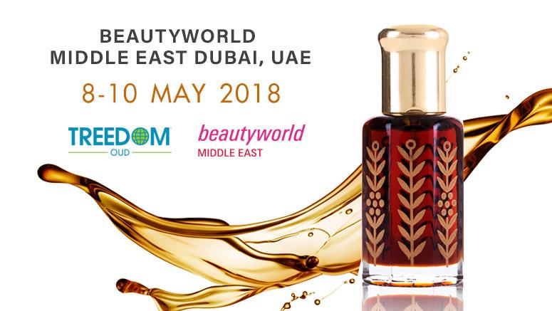 ทรีด้อมเยือนงาน Beautyworld Middle East 2018